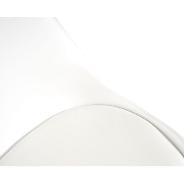 weiß//weiß helle Beine B-Ware 6x Esszimmerstuhl MCW-E53 Kunstleder