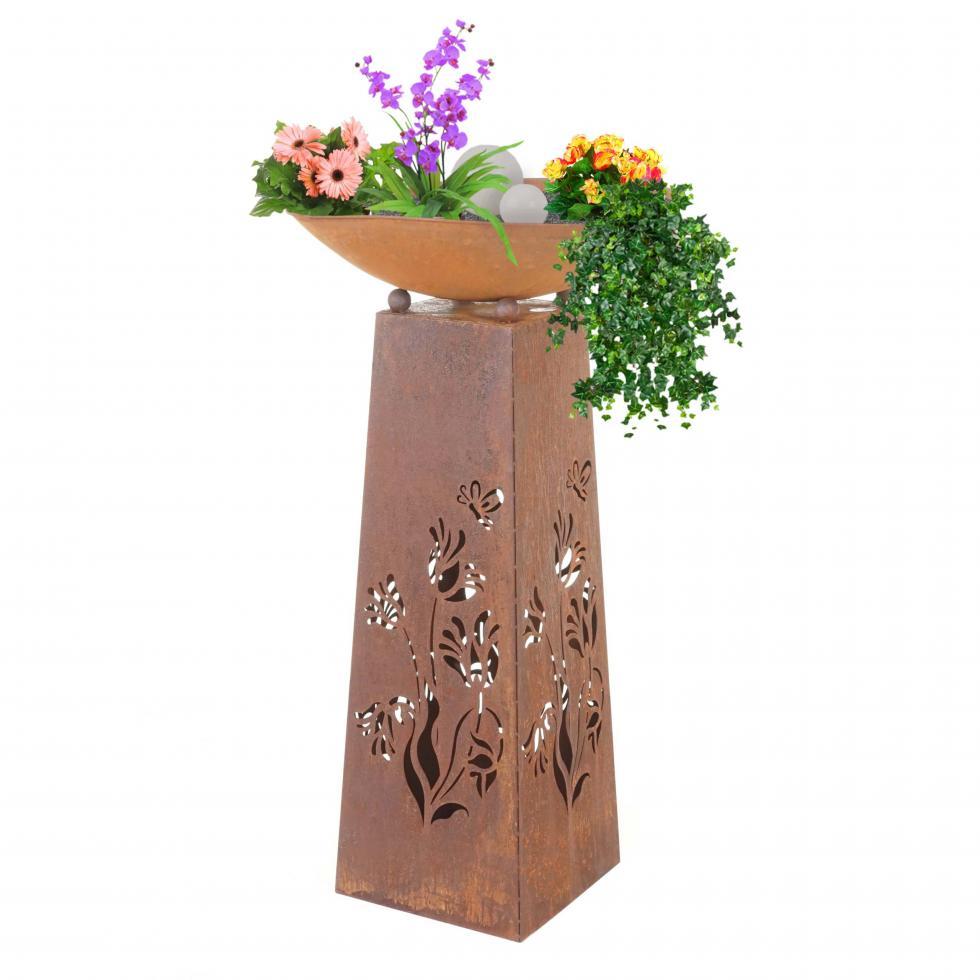 Orto pensile legno cm 74x74x50h orto giardino piante fiori esterno biologico