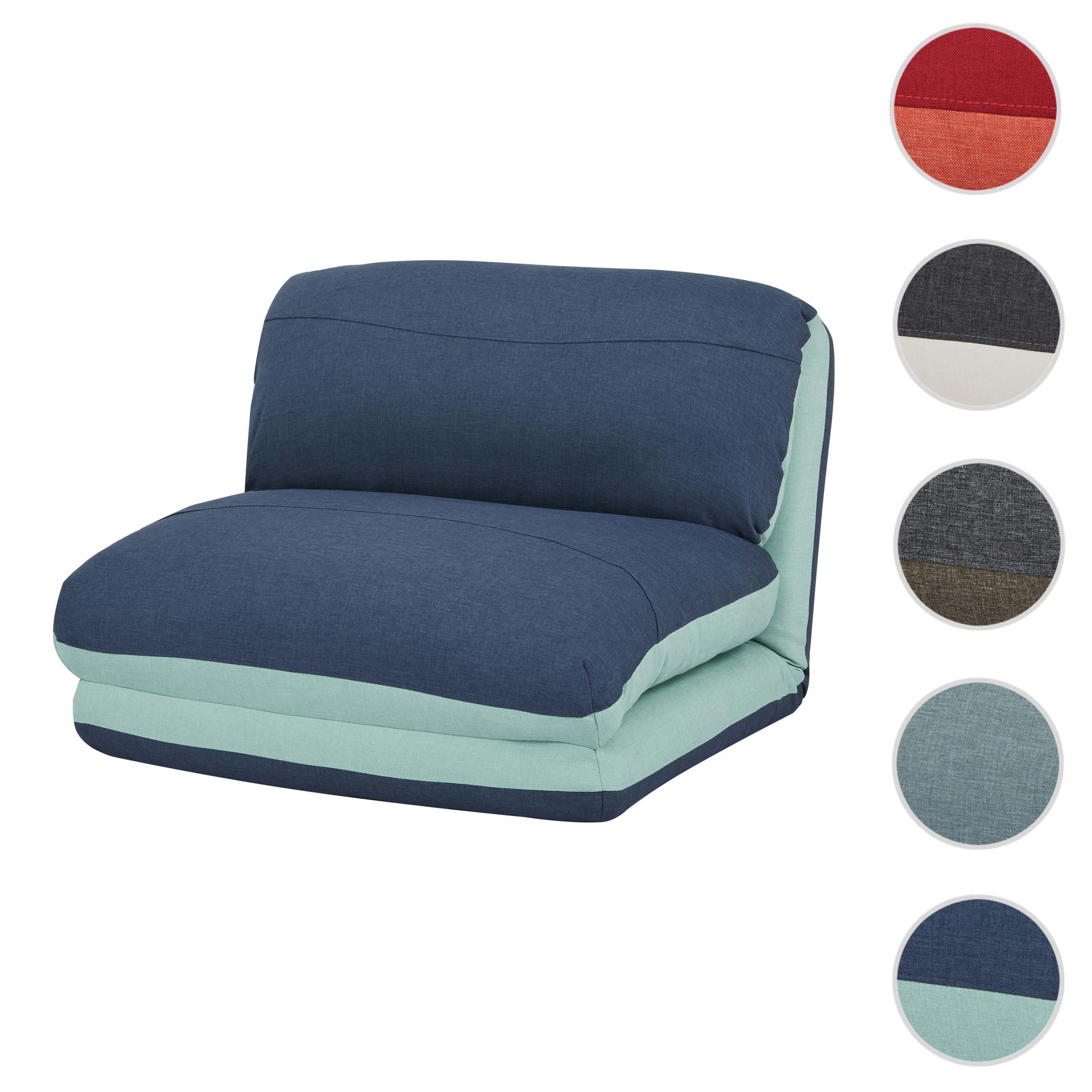 Mendler Schlafsessel HWC-E68, Schlafsofa Funktionssessel Klappsessel Relaxsessel, Stoff/Textil ~ Variantenan 68528