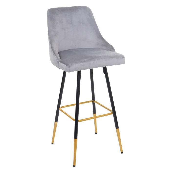 Furniture Retro Samt Goldene Streben Fusse 2x Barhocker Hwc E70 Barstuhl Tresenhocker Home Furniture Diy Omnitel Com Na