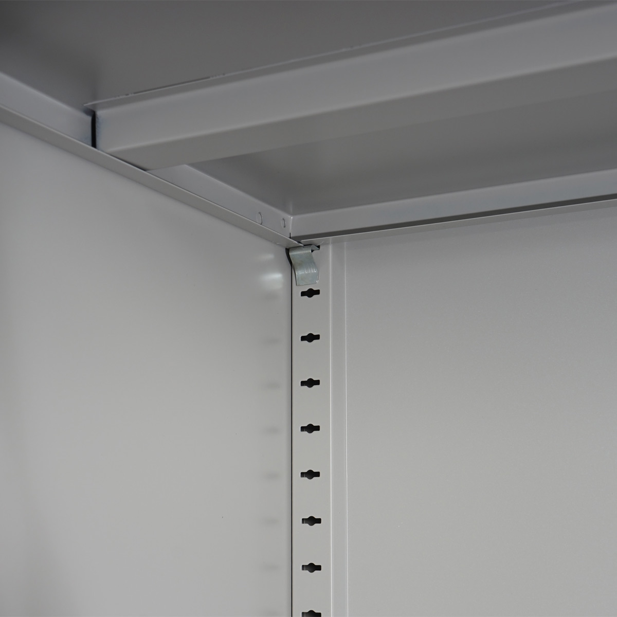 Aktenschrank Boston T130, Metallschrank Büroschrank, 47kg 2 Türen ...