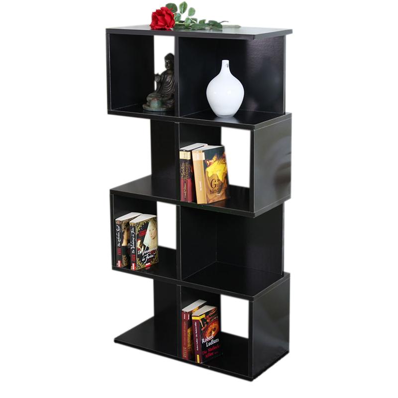 modul regal standregal m73 124x62x28 cm schwarz. Black Bedroom Furniture Sets. Home Design Ideas