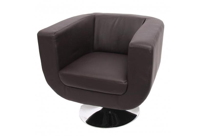 lounge sessel bar sessel club sessel modena ii braun ebay. Black Bedroom Furniture Sets. Home Design Ideas
