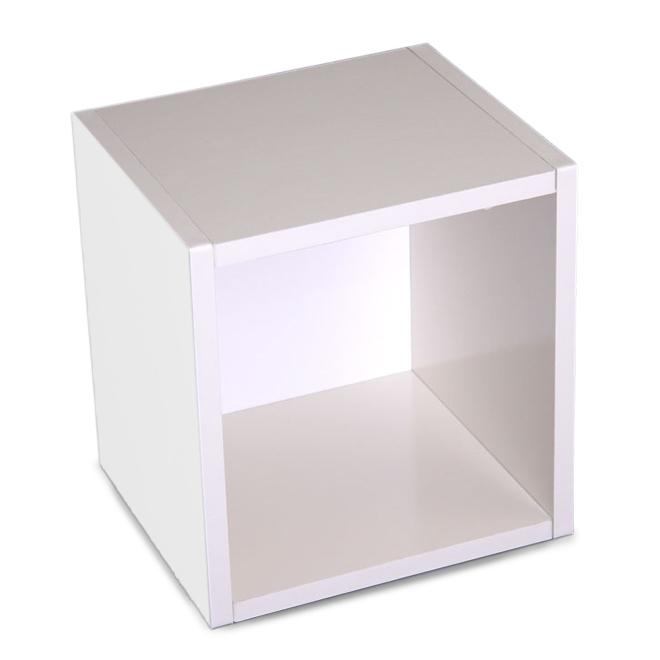 modul w rfelregal standregal m73 33x34x29 cm wei drehbar. Black Bedroom Furniture Sets. Home Design Ideas