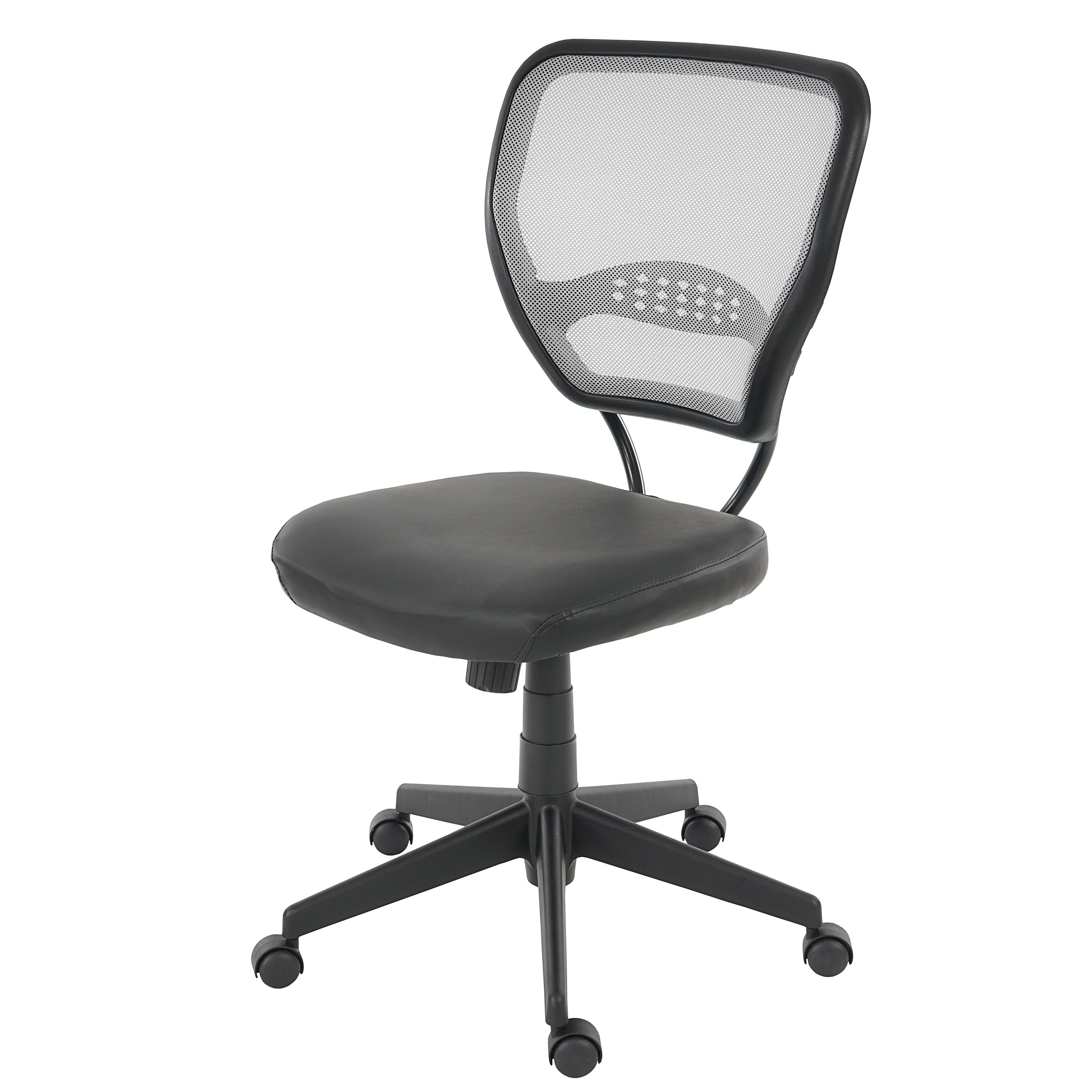 Sedia poltrona ufficio seattle seduta in ecopelle for Sedia poltrona ufficio