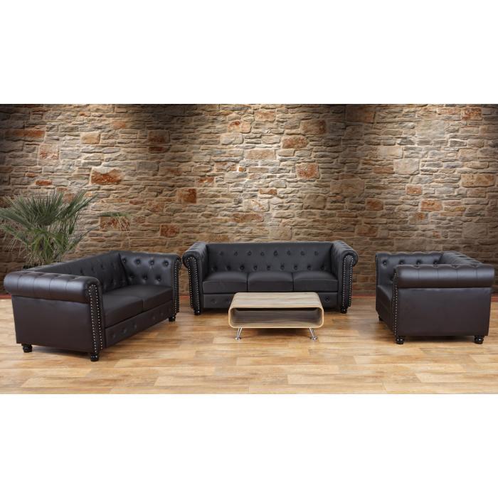 luxus 3 2 1 sofagarnitur couchgarnitur loungesofa. Black Bedroom Furniture Sets. Home Design Ideas