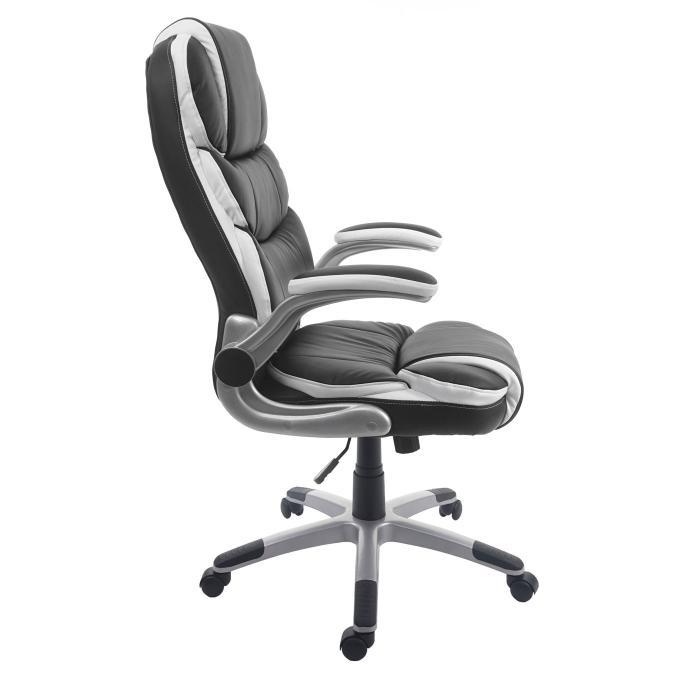 Bürostuhl HWC-F80 Schreibtischstuhl Chefsessel Drehstuhl Kunstleder