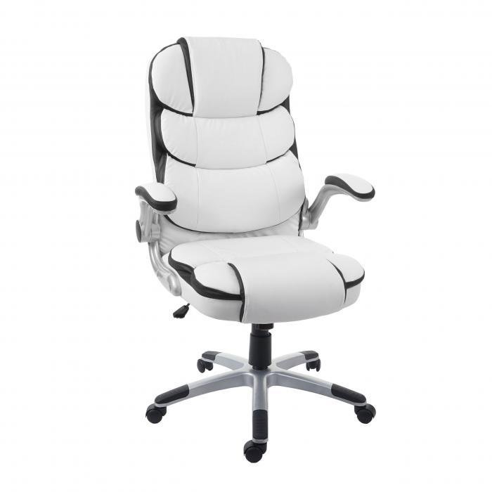 Hochwertig Bürostuhl LEDER 4 Farben Drehstuhl Chefsessel Schreibtischstuhl NEU