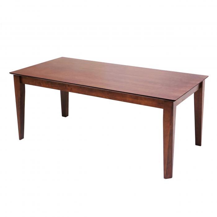 Esstisch HWC G64, Esszimmertisch Küchentisch Holztisch Tisch, rechteckig Massiv Holz ~ 160x90cm