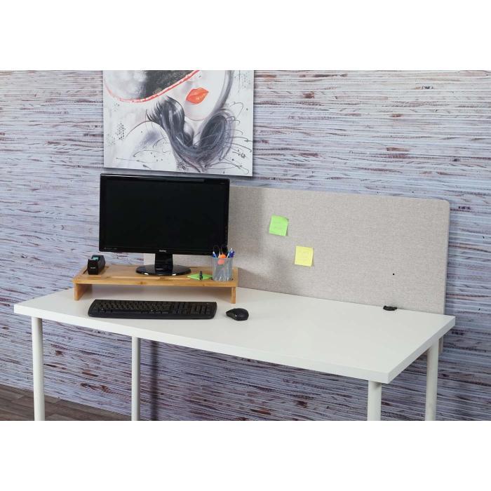 Akustik Tischtrennwand HWC G75, Büro Sichtschutz