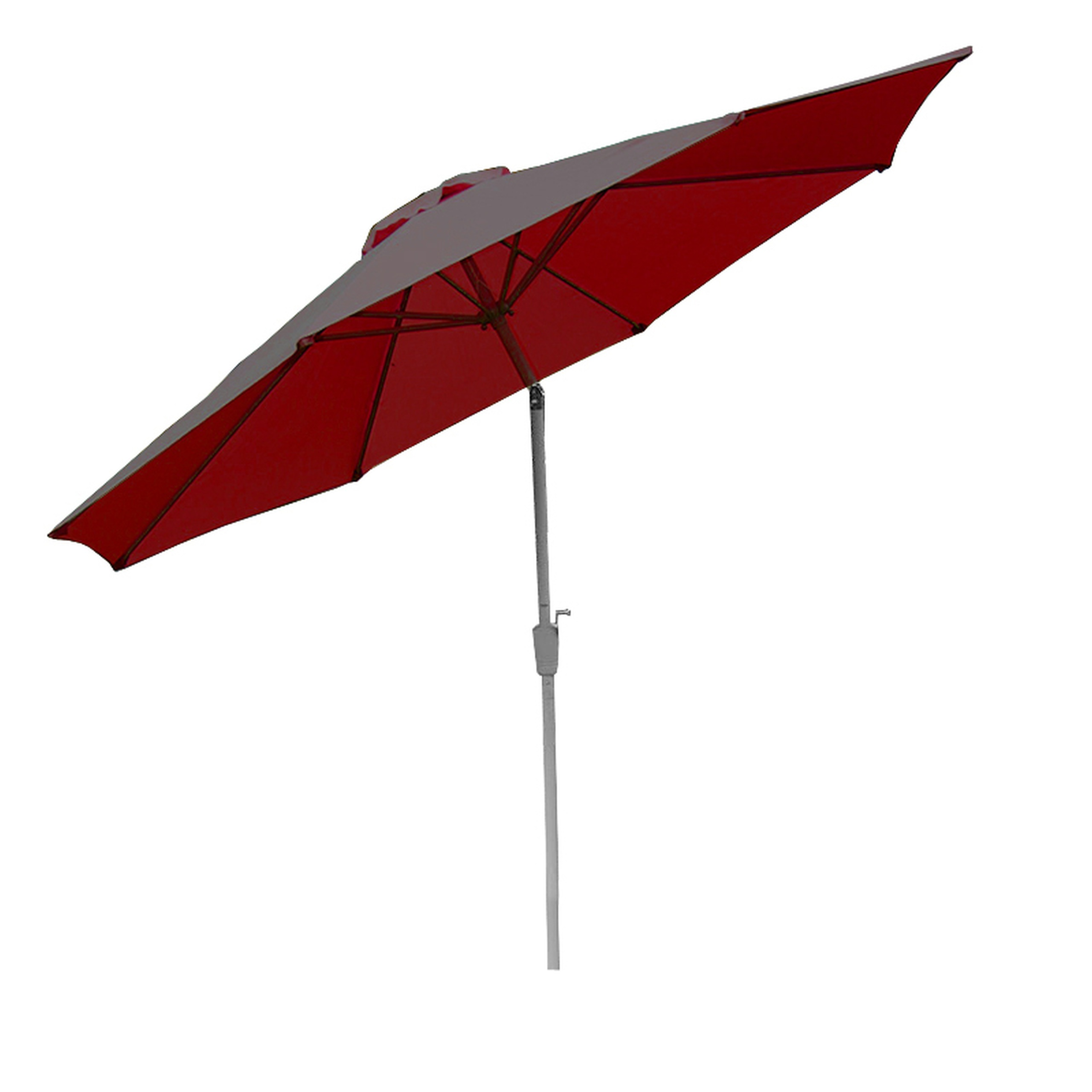 aluminum parasol garden umbrella 300cm n19 inclinable