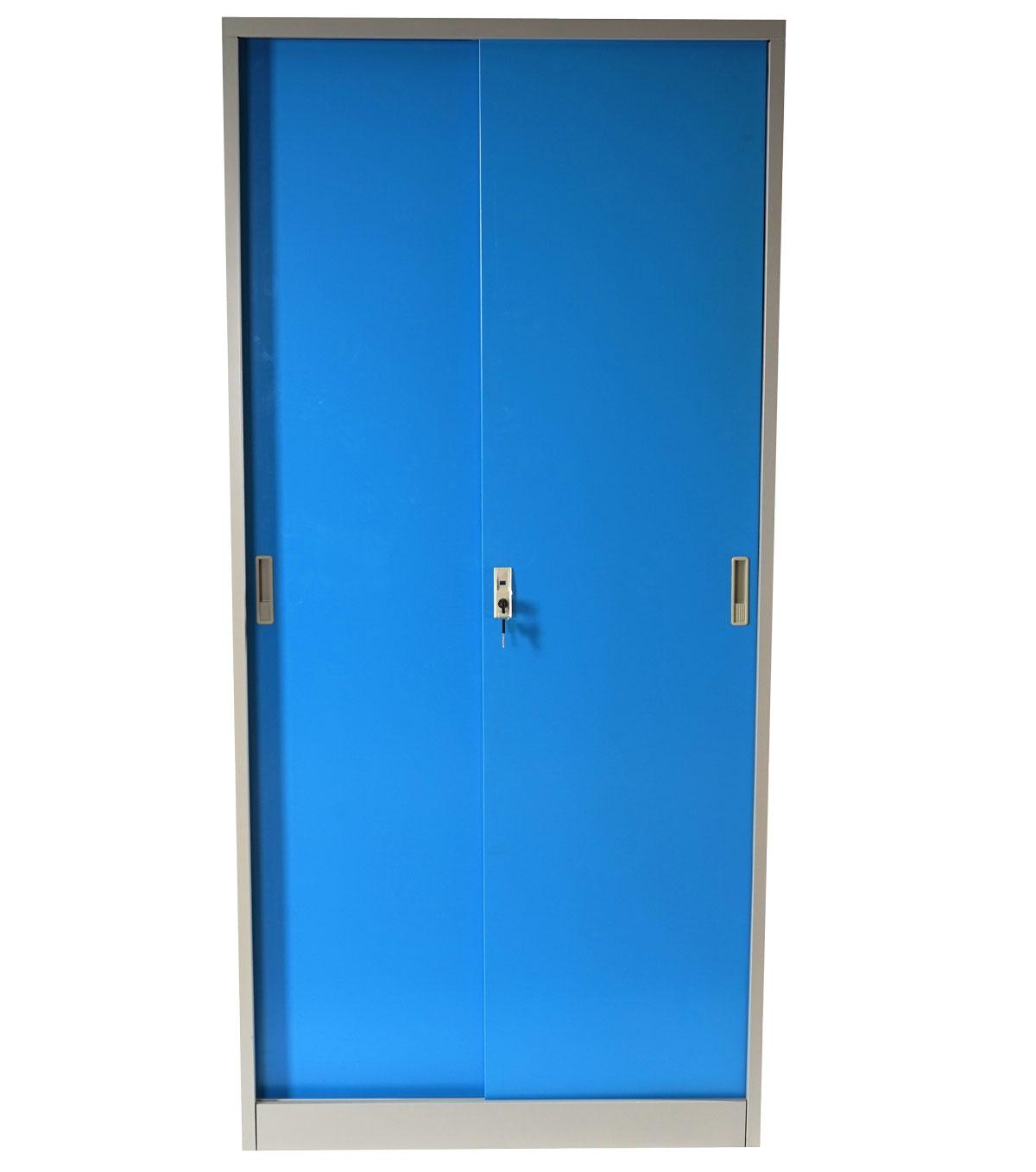meuble classeur boston t131 vestiaire placard en m tal 43kg bleu ebay. Black Bedroom Furniture Sets. Home Design Ideas