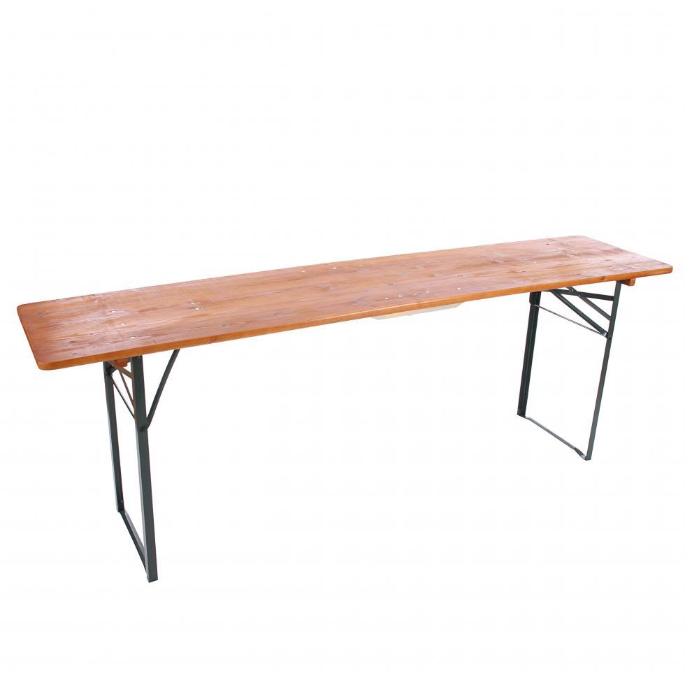Tisch 220cm Bregenz Klappbar Gebeizt F R