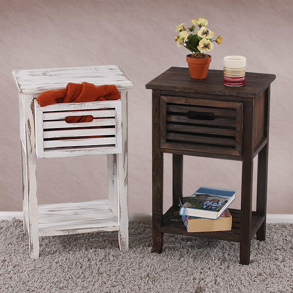 beistelltisch vintage look bestseller shop f r m bel und. Black Bedroom Furniture Sets. Home Design Ideas