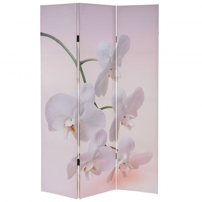 Foto Paravent T233 Paravent Raumteiler Trennwand 180x120cm Orchidee
