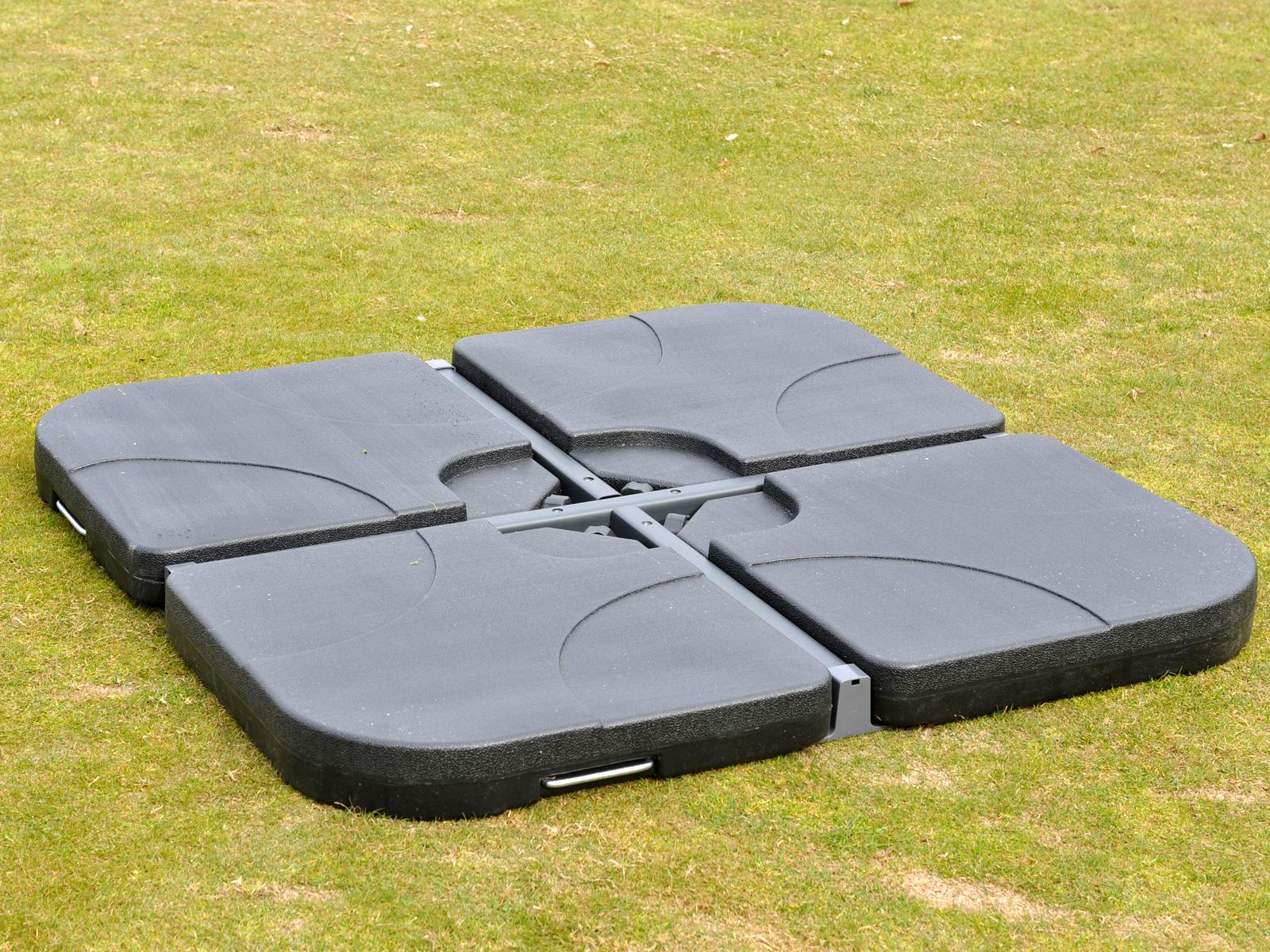 ampelschirmst nder marktschirmst nder f r bodenkreuz 65kg. Black Bedroom Furniture Sets. Home Design Ideas