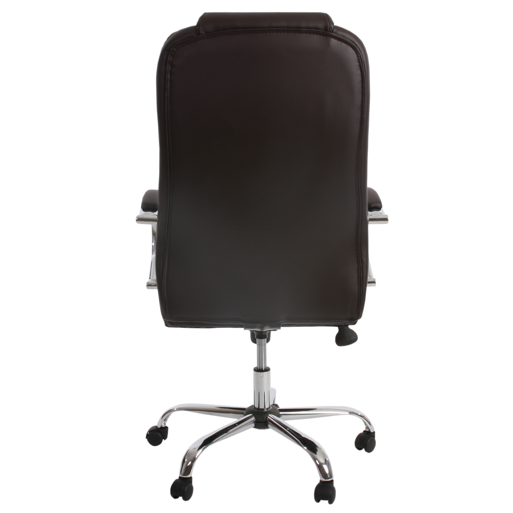 fauteuil de bureau pro kansas xxl charge jusqu 39 150kg similicuir marron ebay. Black Bedroom Furniture Sets. Home Design Ideas