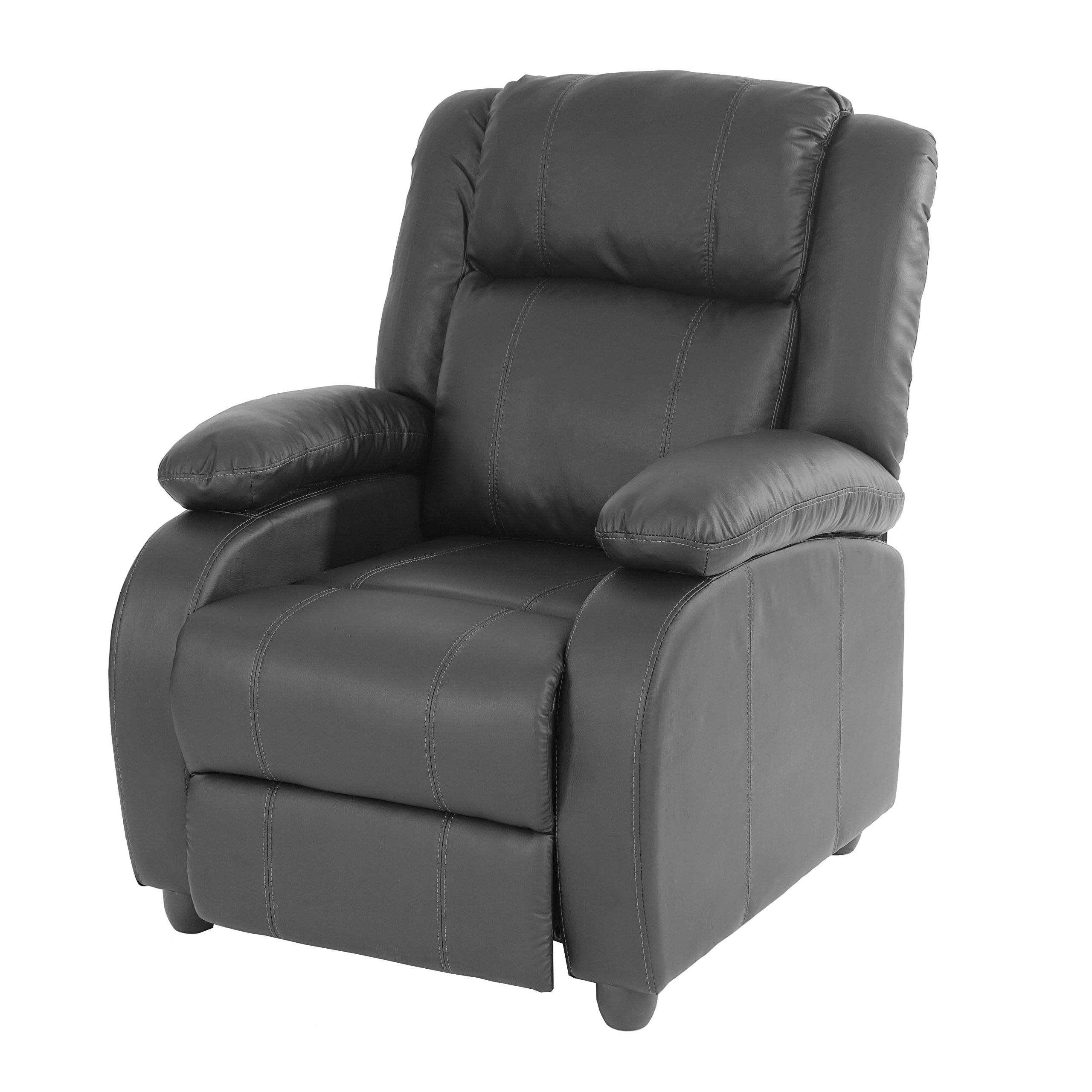 fernsehsessel relaxsessel liege sessel lincoln kunstleder. Black Bedroom Furniture Sets. Home Design Ideas
