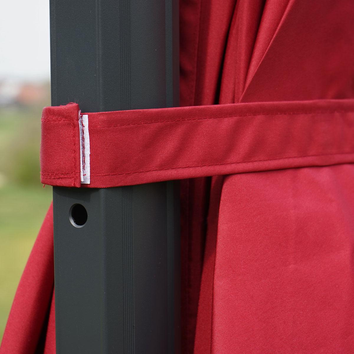 gastronomie luxus ampelschirm sonnenschirm n22 4 3 m. Black Bedroom Furniture Sets. Home Design Ideas
