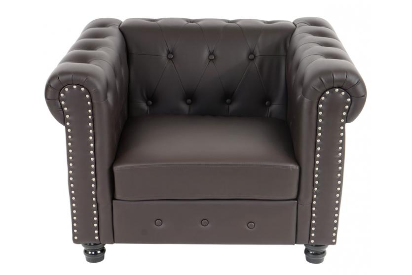 Luxus sessel  Luxus Sessel Loungesessel Relaxsessel Chesterfield Kunstleder ...