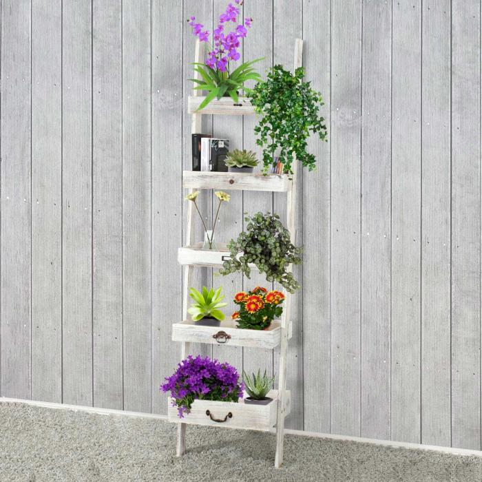 regal standregal pflanzregal blumenst nder 169x43x32cm. Black Bedroom Furniture Sets. Home Design Ideas