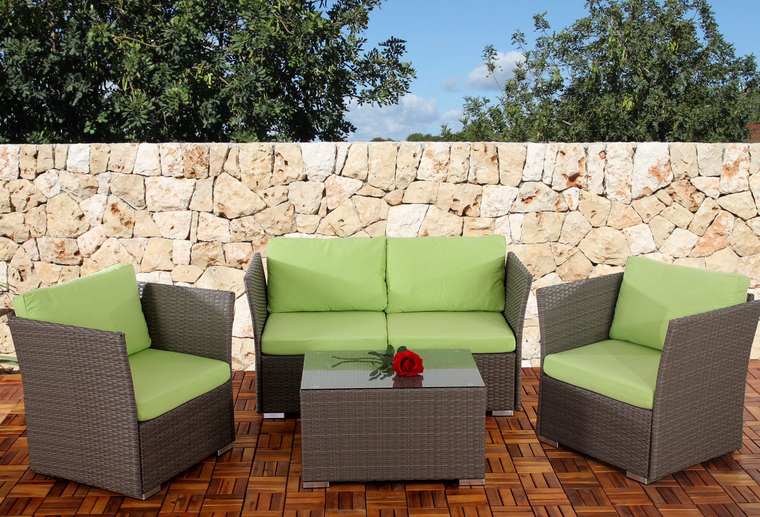 10x seitenteil f r poly rattan sofa siena modulare gastronomie qualit t grau. Black Bedroom Furniture Sets. Home Design Ideas