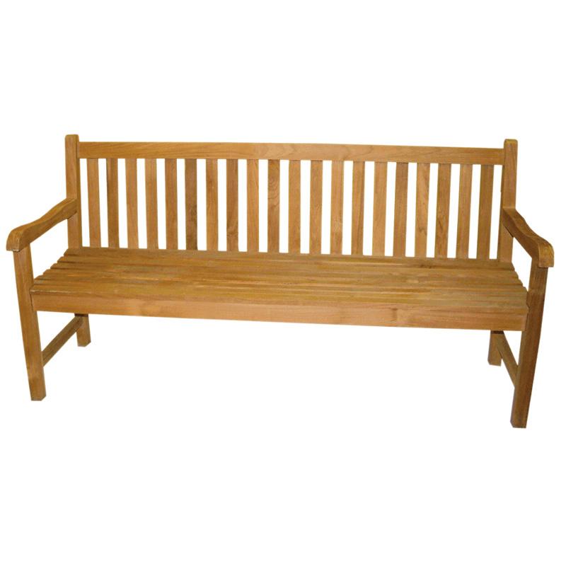 gartenbank ld20 holzbank teakholz 180cm. Black Bedroom Furniture Sets. Home Design Ideas