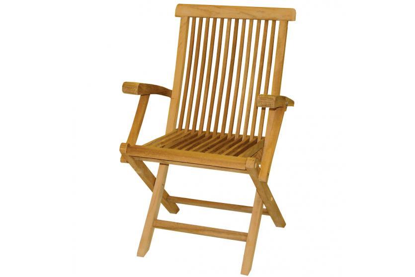 klappsessel ld15 klappstuhl gartenstuhl teakholz 89x56x58cm. Black Bedroom Furniture Sets. Home Design Ideas