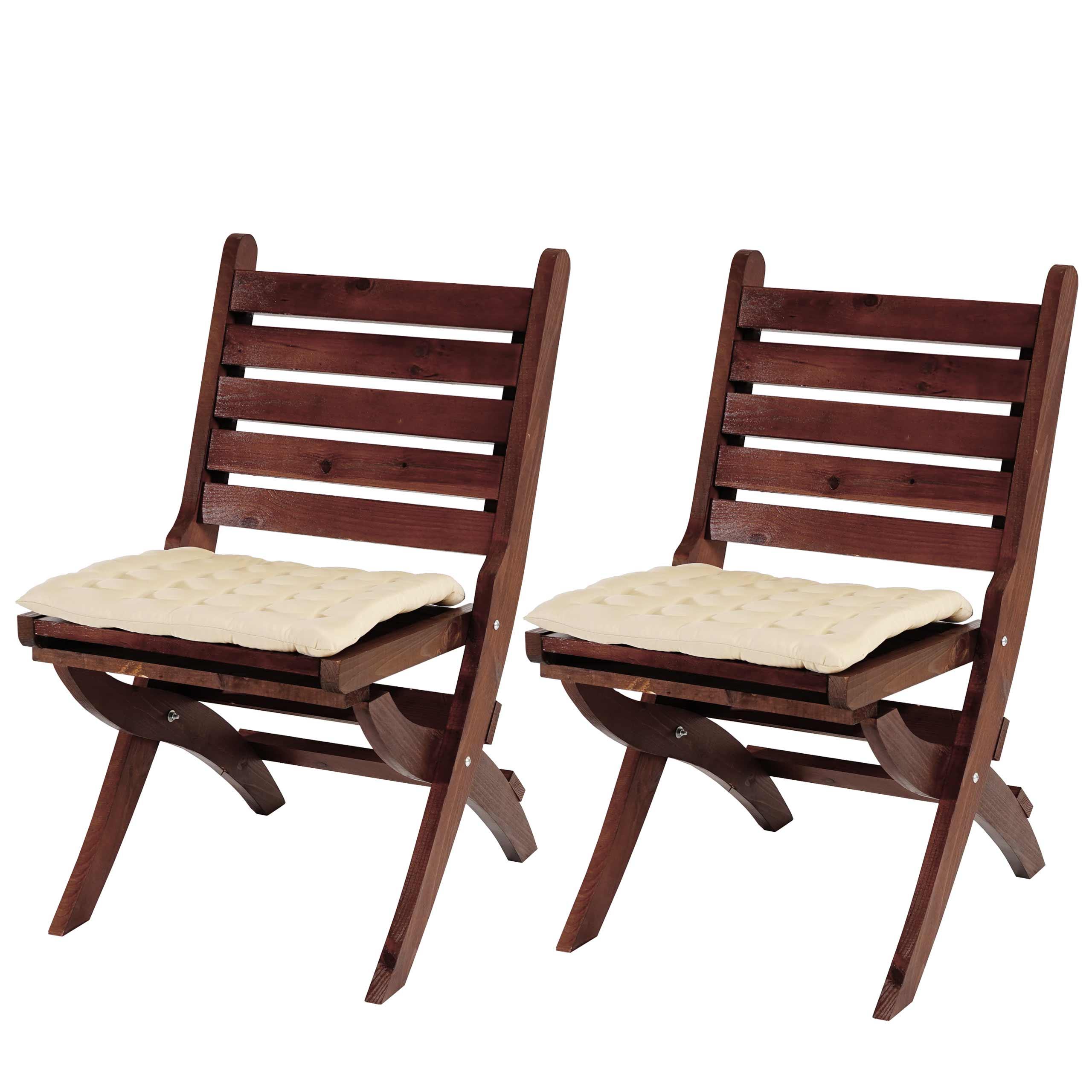 2x sitzkissen canberra stuhlkissen kissen 43x41x3cm. Black Bedroom Furniture Sets. Home Design Ideas