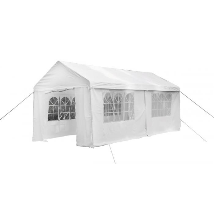 pavillon ld48 gartenpavillon gartenzelt partyzelt festzelt stahl 6x3m. Black Bedroom Furniture Sets. Home Design Ideas