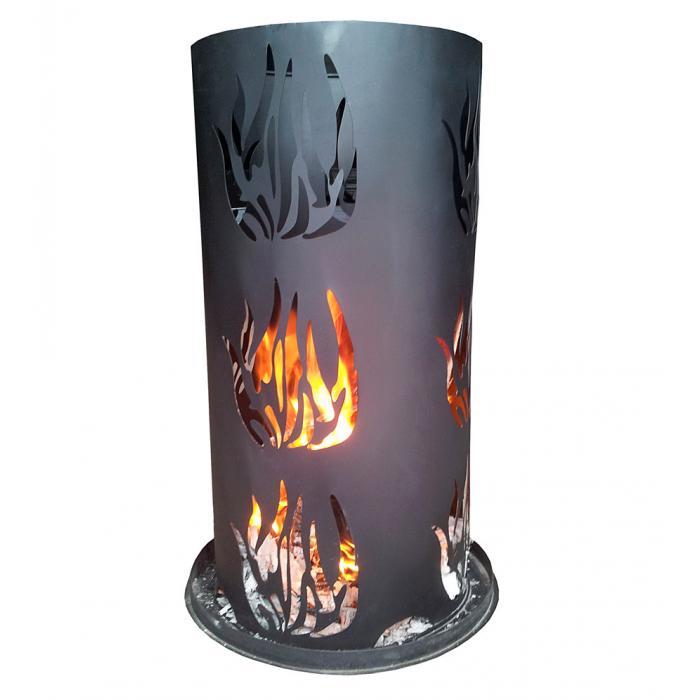 Feuersaule Ld27 Feuerstelle Terrassenofen Terrassenkamin