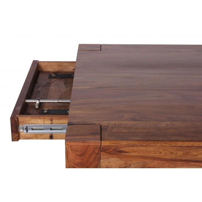 esszimmertisch malatya tisch esstisch sheesham massivholz ausziehbar 160 240cm. Black Bedroom Furniture Sets. Home Design Ideas