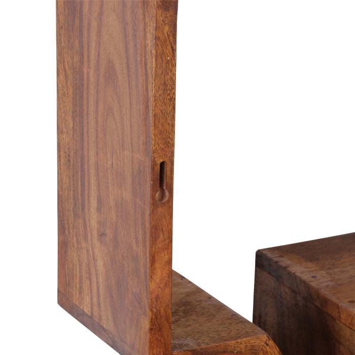 hängeregal massivholz