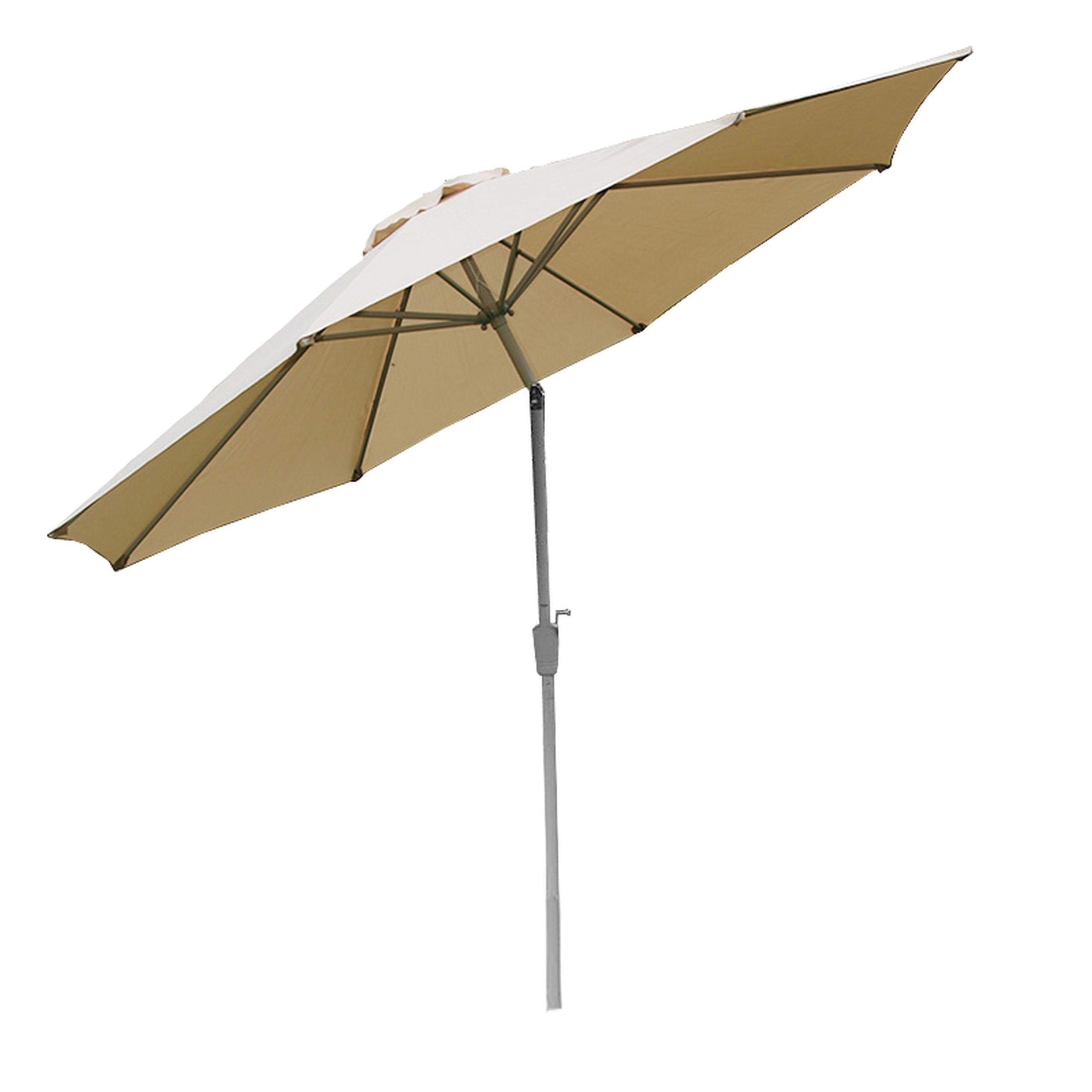 aluminum parasol garden umbrella 300cm n19 inclinable. Black Bedroom Furniture Sets. Home Design Ideas