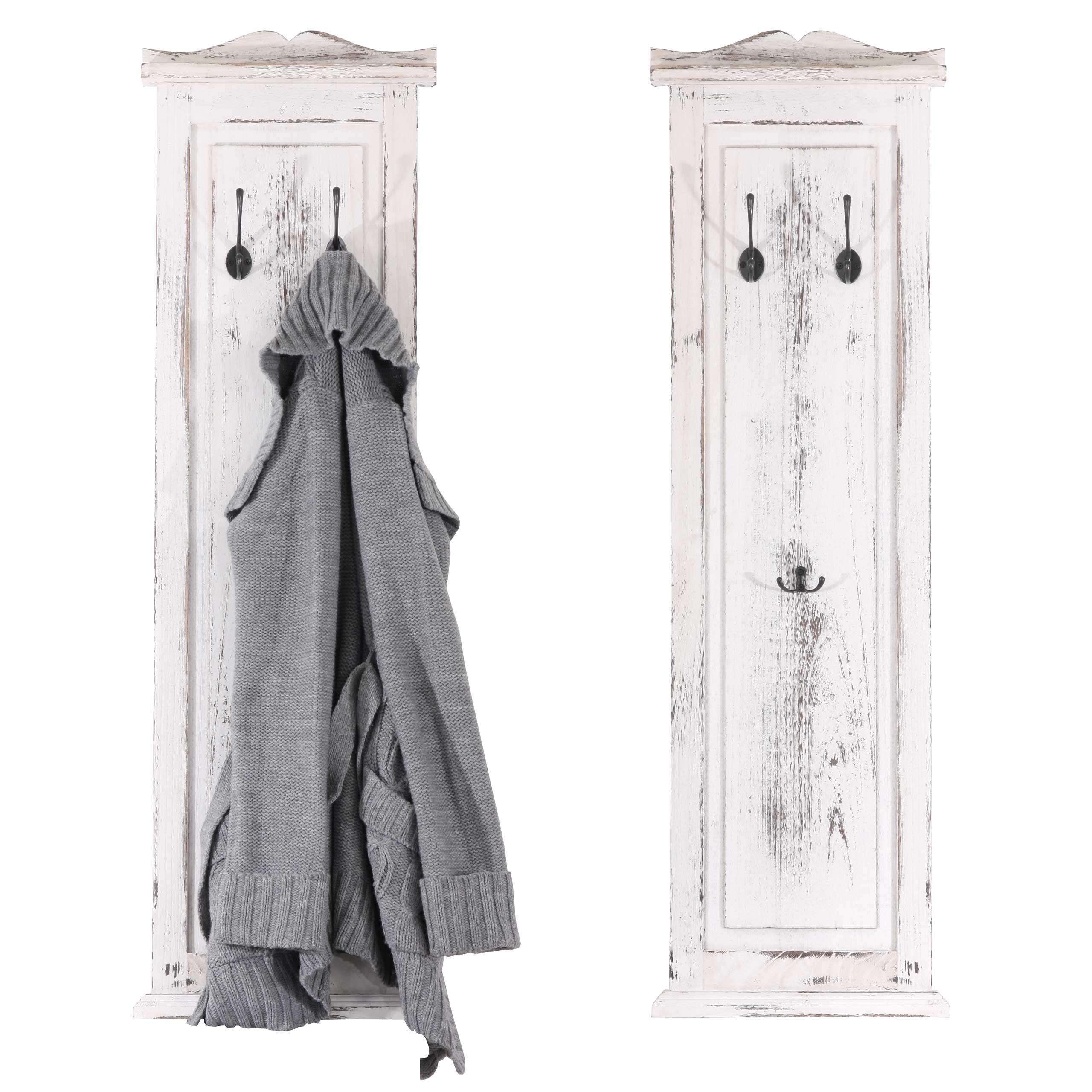 Garderobe Gr/ö/ße HxB: 139cm x 46cm Motiv: No.RS179 Great Things Top Shabby Spr/üche Garderoben