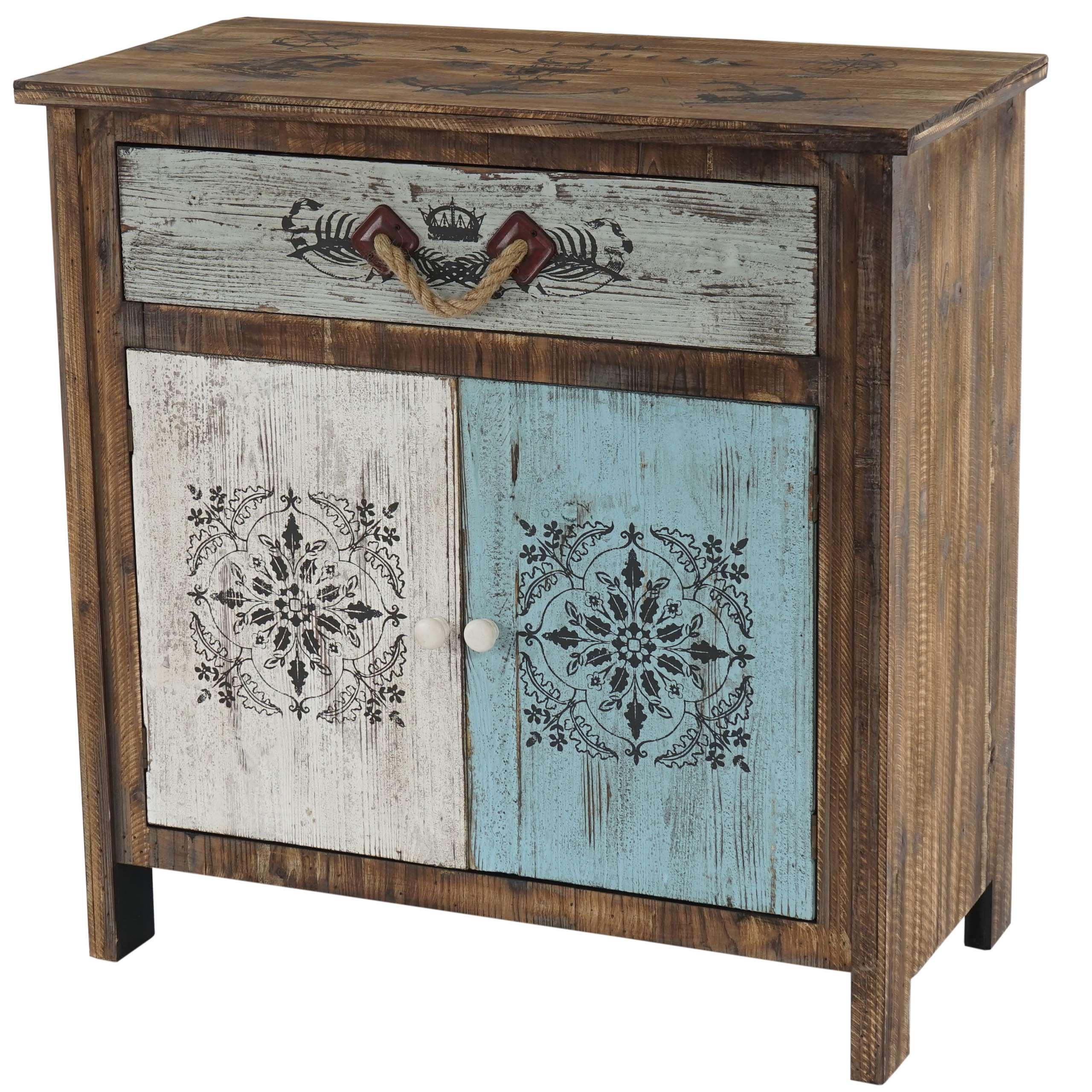 kommode funchal schubladenkommode schrank shabby look. Black Bedroom Furniture Sets. Home Design Ideas