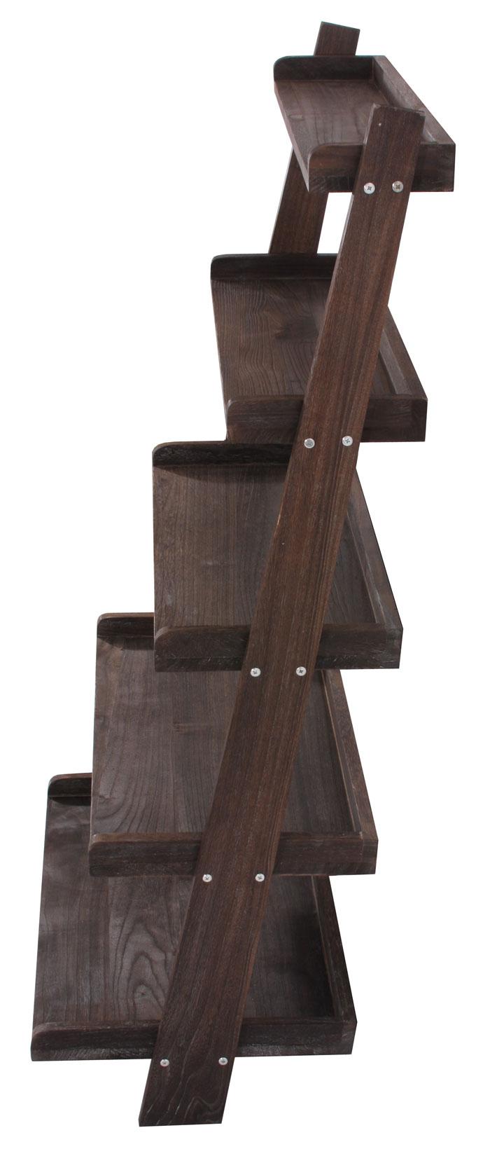 regal standregal pflanzregal blumenst nder 119x64x38cm shabby look vintage braun. Black Bedroom Furniture Sets. Home Design Ideas