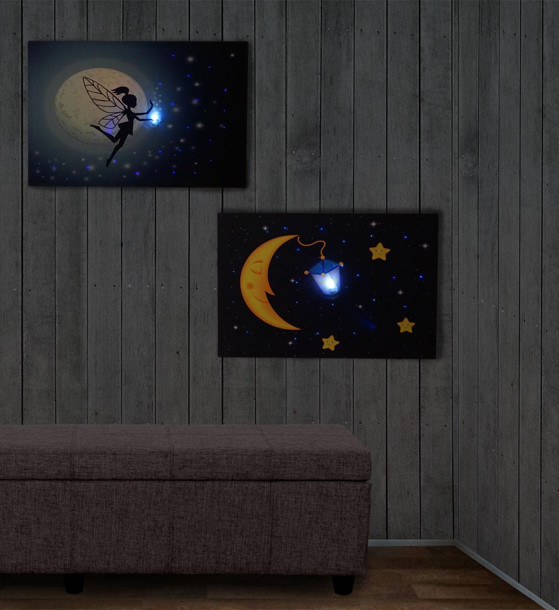 2x LED-Bild Ambiente-Bild
