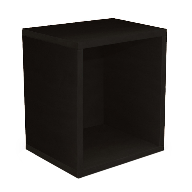 modul w rfelregal standregal m73 40x34x29 cm schwarz. Black Bedroom Furniture Sets. Home Design Ideas