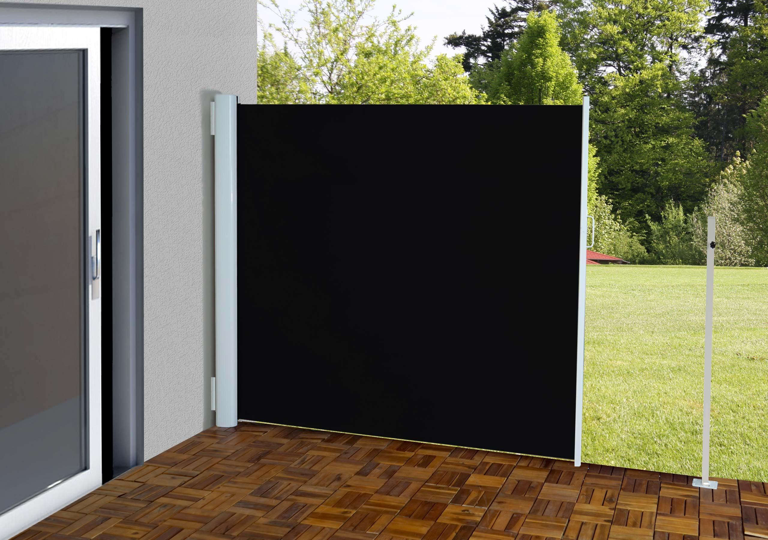 Paravento laterale per esterni poliestere telaio in alluminio | eBay