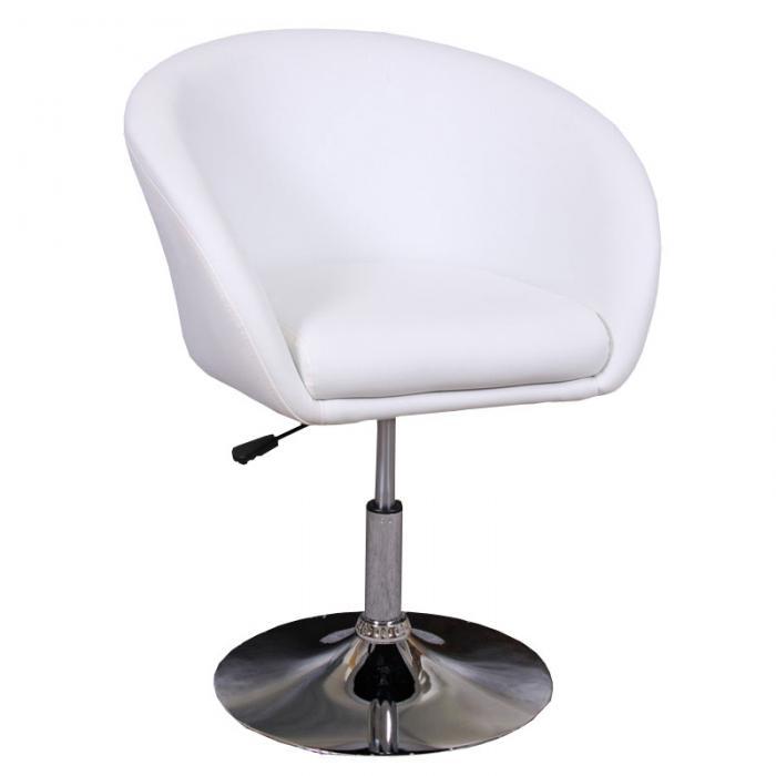 Loungesessel weiß  Sessel Loungesessel N39, höhenverstellbar ~ weiß