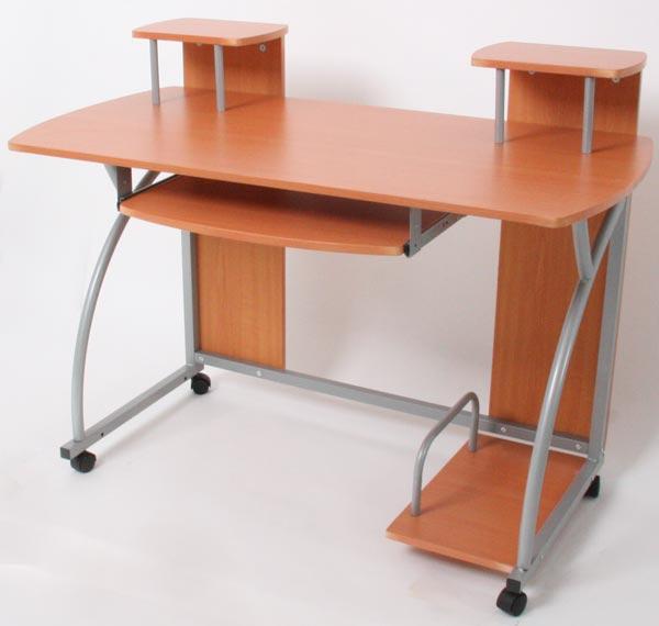 Jugend-Schreibtisch Ancona, ca 90x115x55cm ~ Buche