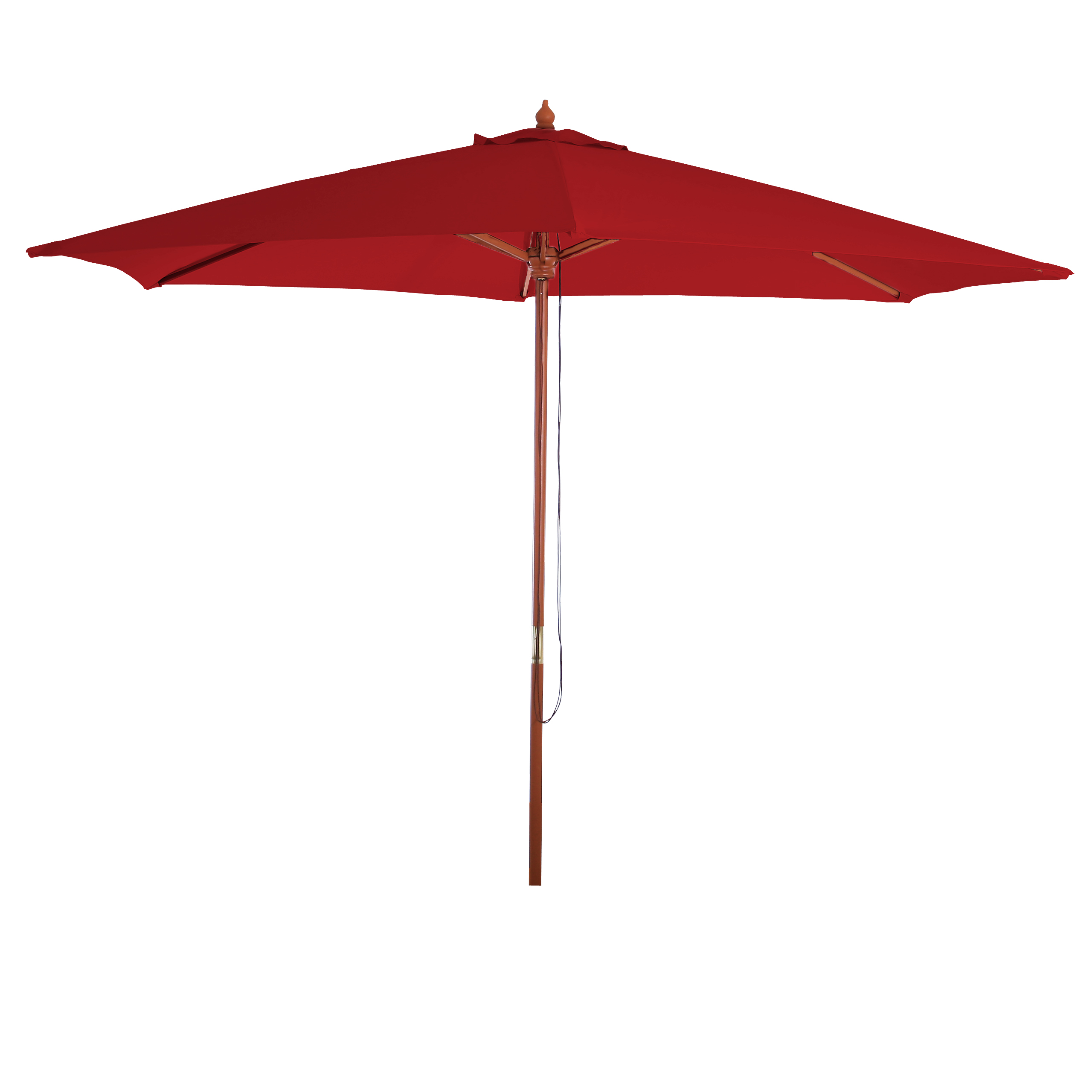 parasol en bois parasol de jardin florida parasol de march 3m bordeaux ebay. Black Bedroom Furniture Sets. Home Design Ideas