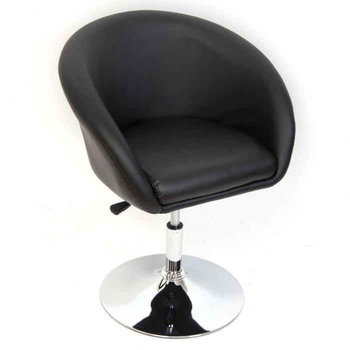 Relaxsessel Sessel Loungesessel N39 Hohenverstellbar Schwarz