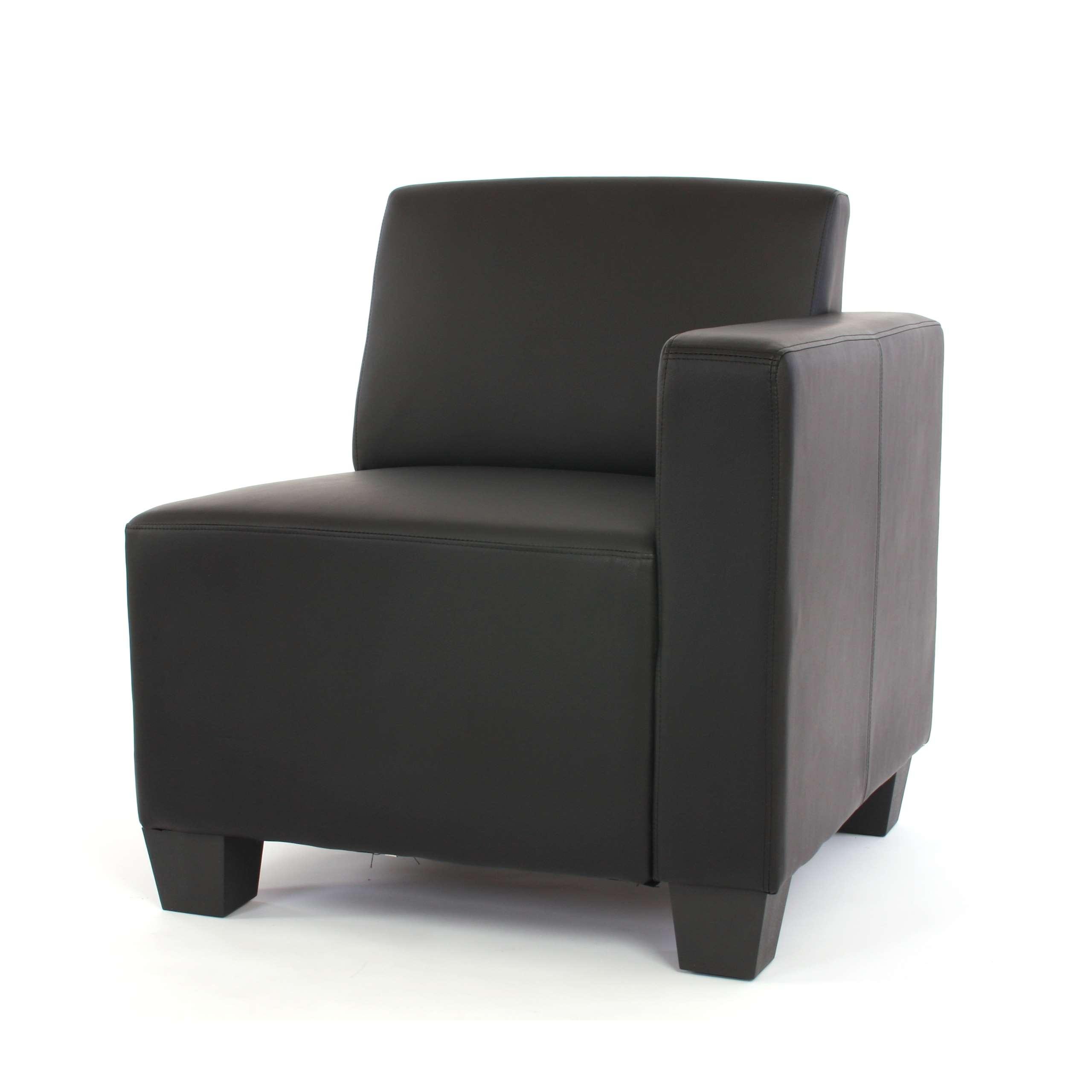 Canape-element-Lyon-systeme-de-canape-modulaire-simili-cuir-noir