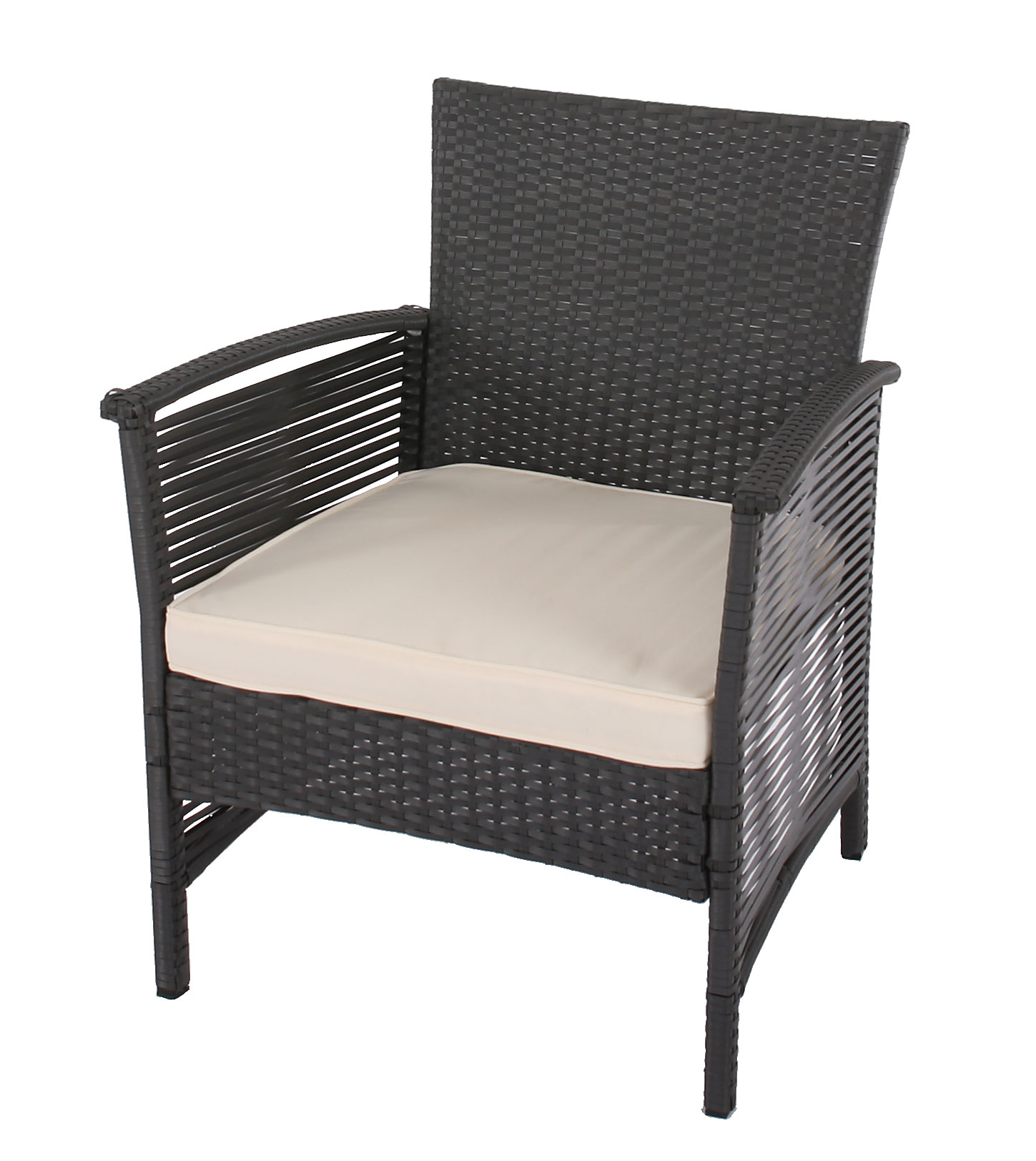 2 1 1 poly rattan garten garnitur ibarra sitzgruppe. Black Bedroom Furniture Sets. Home Design Ideas