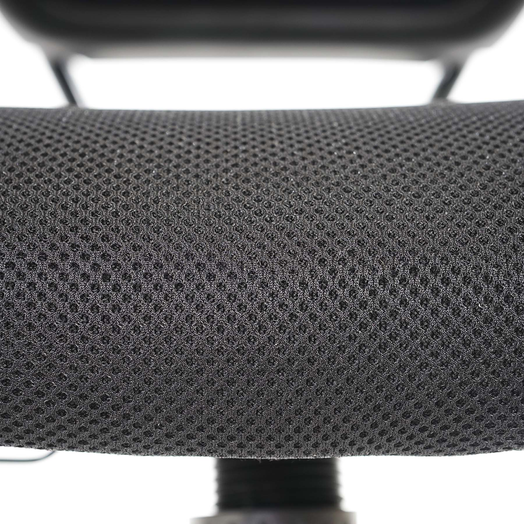 profi b rostuhl seattle chefsessel drehstuhl 150kg belastbar textil schwarz ohne armlehnen. Black Bedroom Furniture Sets. Home Design Ideas