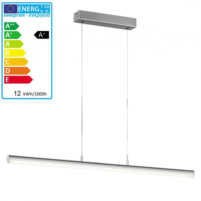 Schön ... Reality|Trio LED Pendelleuchte Hängeleuchte Balkenlampe RL117 ~ 12W,  80cm ...