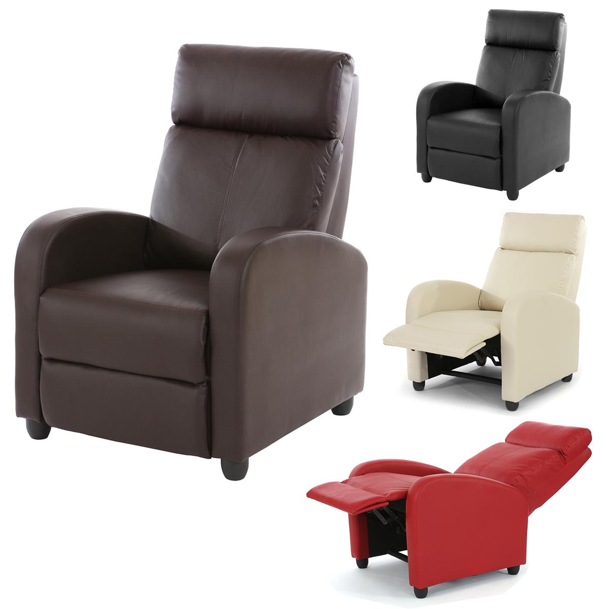Fernsehsessel Relaxsessel Relaxliege Sessel Denver Kunstleder Ebay