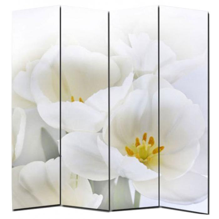 Foto Paravent Paravent Raumteiler Trennwand M68 180x160cm Orchidee